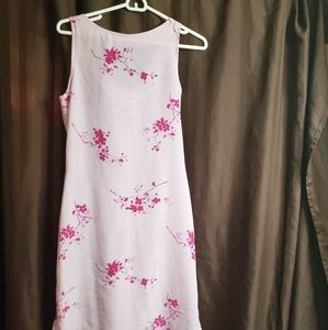 Alyn Paige pink floral dress NWOT